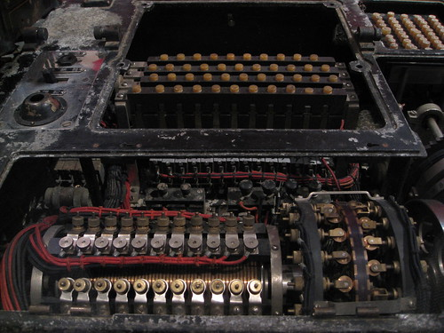 Japanese Navy RED Cipher machine | by brewbooks