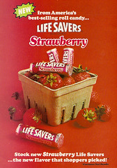 1978 Strawberry Life Savers Candy Ad | by gregg_koenig