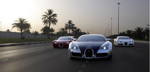 x3 buggati in uae part 1 | by Ra3y-Al-White