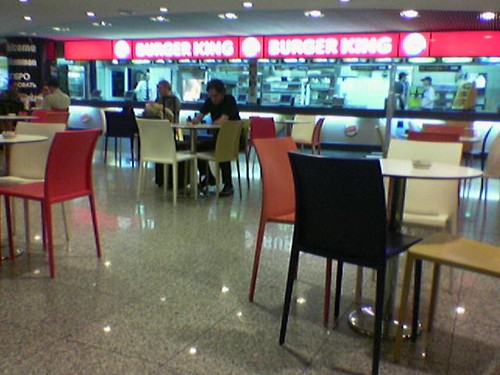 Food Court Aeroport Charge De Gaulle