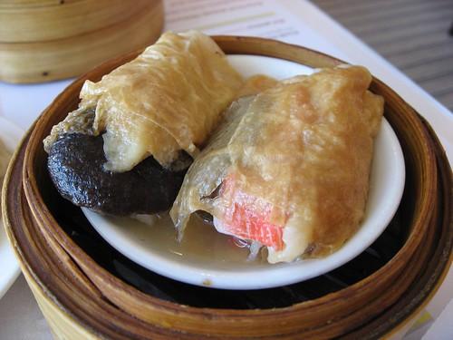Steamed Seafood Tofu Skin Rolls | beautifulcataya | Flickr