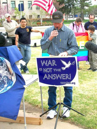 Oklahoma City- 6th Anniversary of the Iraq War Demonstration | by friendscommittee