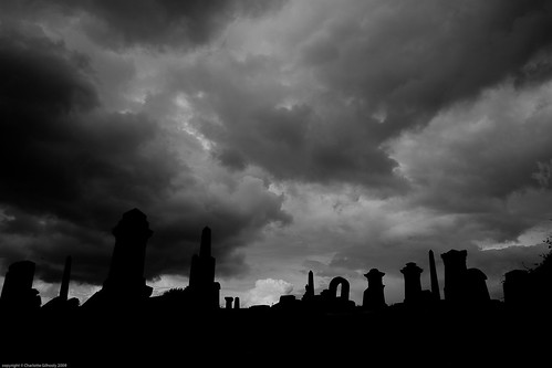 Rainclouds above Sighthill Cemetery | by Perspicacious
