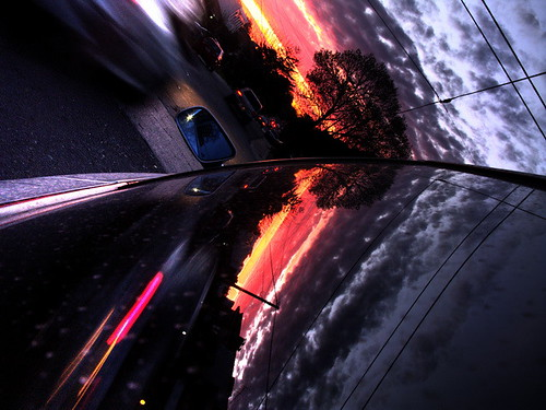 Car reflections (In Explore #31) | by Onironauta...