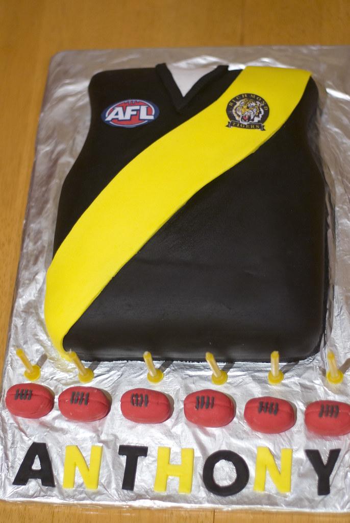Richmond Football Club Cake Richmond Football Club Birthda Flickr