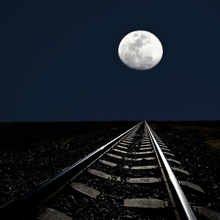 Train to the moon | by risquillo