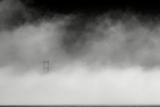 Golden Gate Bridge_South Tower in Fog_San Francisco | by RevellRay