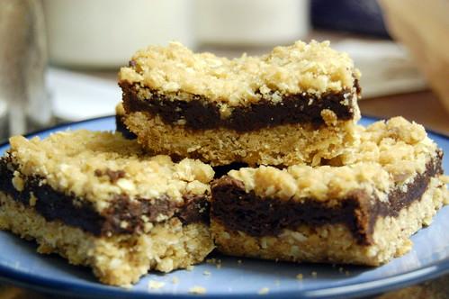 Oatmeal Fudge Bars America S Test Kitchen