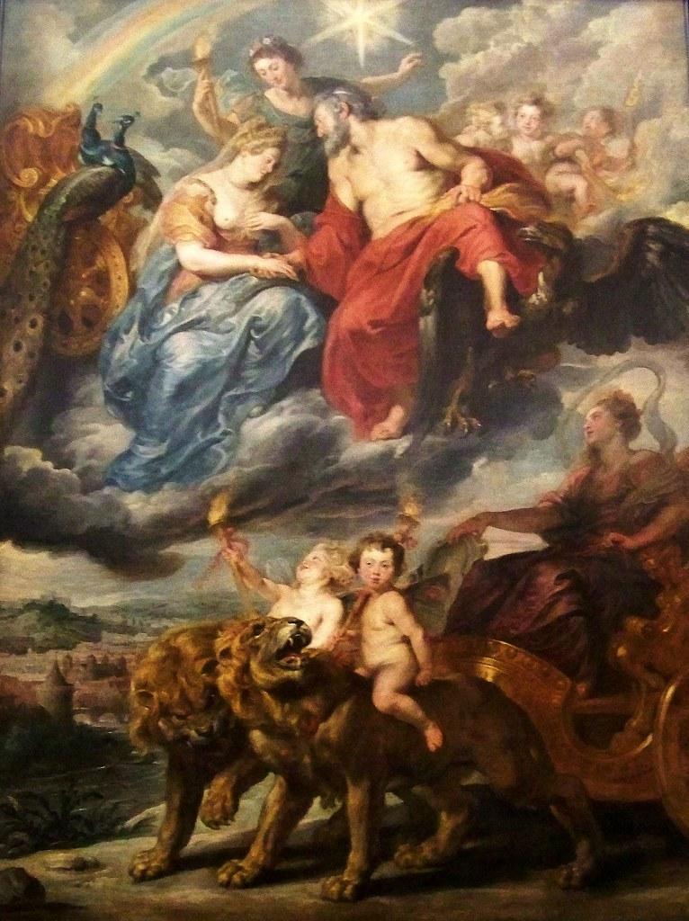 Pierre-Paul Rubens, L'Arrivée de la reine à Lyon, ou La