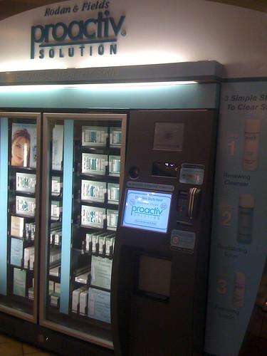 Proactiv coupons vending machine