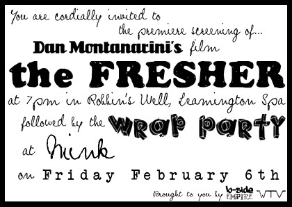 The Fresher Screening And Wrap Party Invitation Invite F Flickr