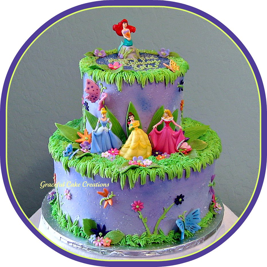 Disney Princess Birthday Cake Grace Tari Flickr