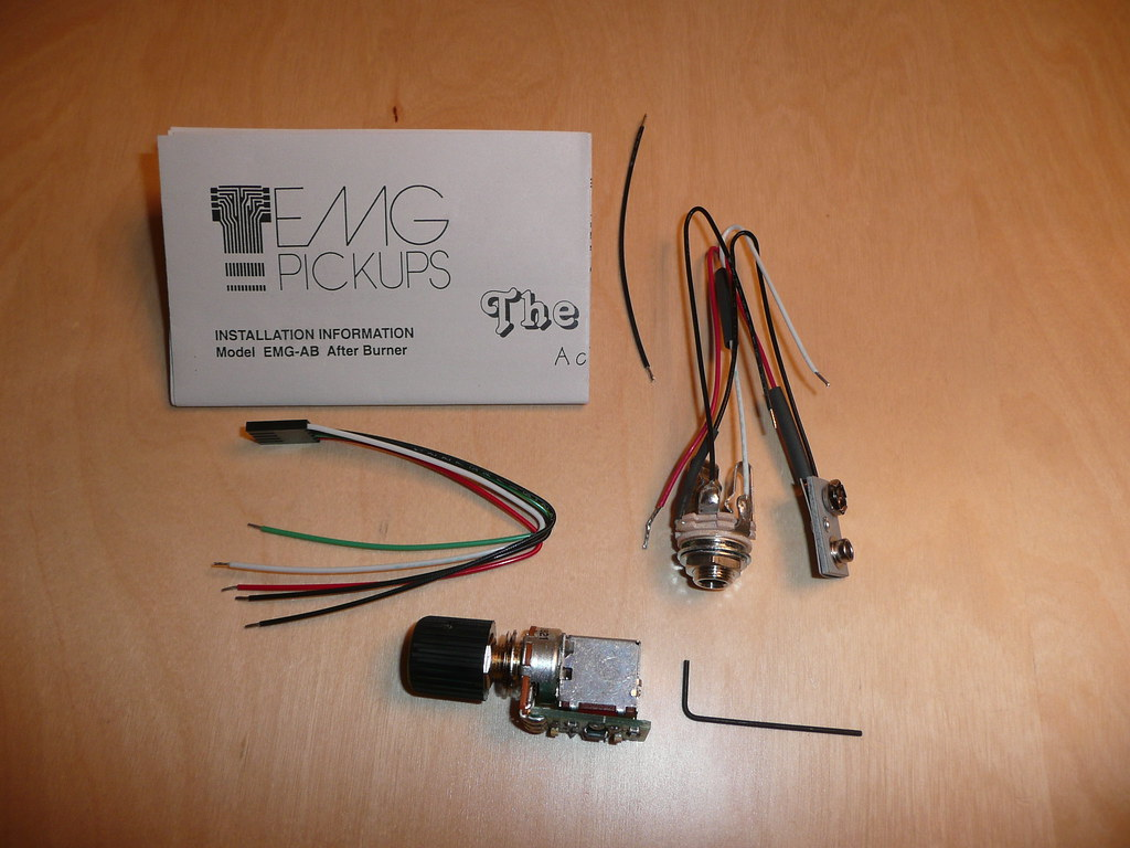 ... The EMG Afterburner package content | by icanmakeit.de