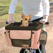 Snoozer Buddy Bike Basket | by Furry Travelers