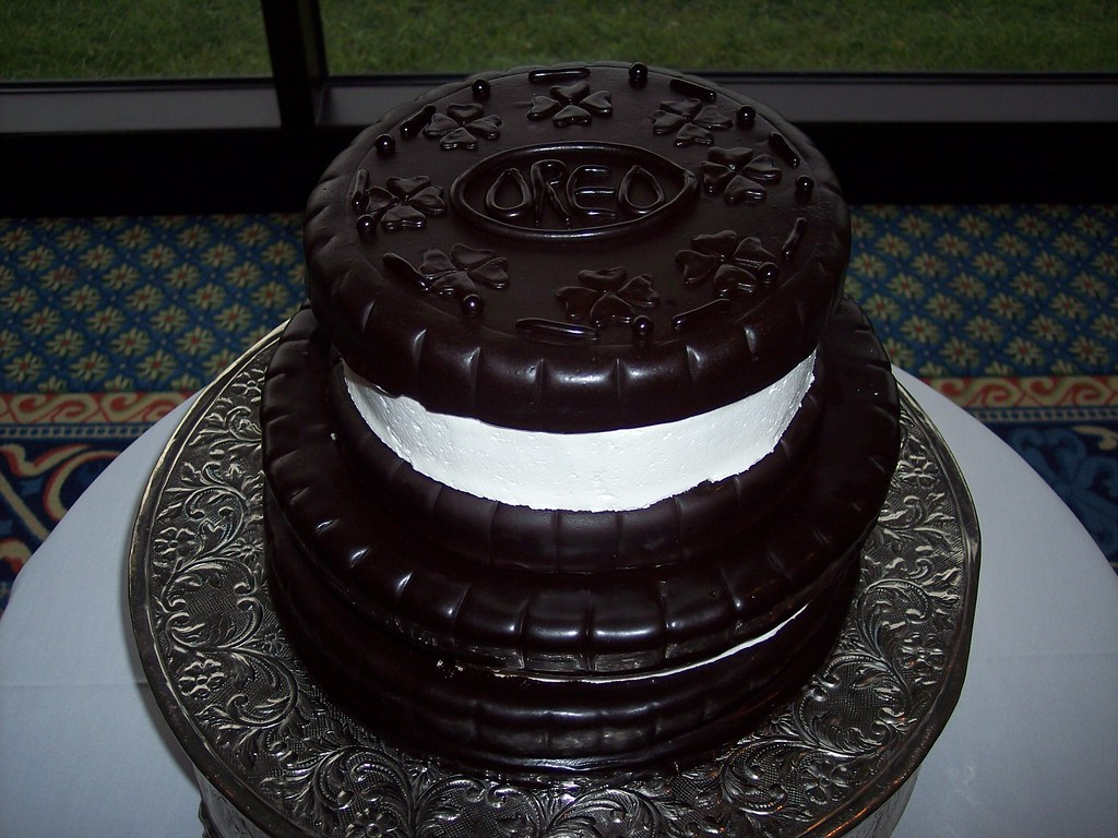 High Quality ... Oreo Cookie Wedding Cake Wilmington, NC Carolina Cakes U0026 Confections |  By Carolina Cakes U0026