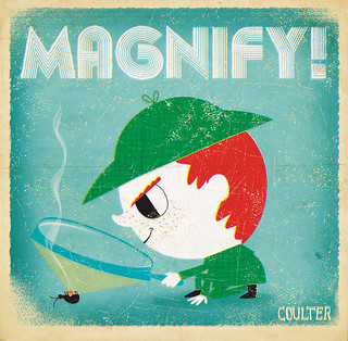 Illustration Friday: Magnify version 2 | by redcoulter