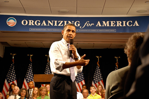 President Obama at the Organizing for America Health Insurance Reform Forum 8/19/2009 | by Barack Obama