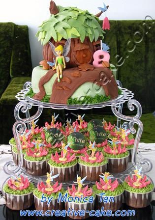 Tinkerbell Birthday Cake Monica Tan Flickr