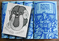 Endless Canvas Zine - Issue #1 - Limited Edition | by EndlessCanvas.com