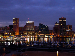 Baltimore Inner Harbor from Federal Hill | by Kathleen Tyler Conklin