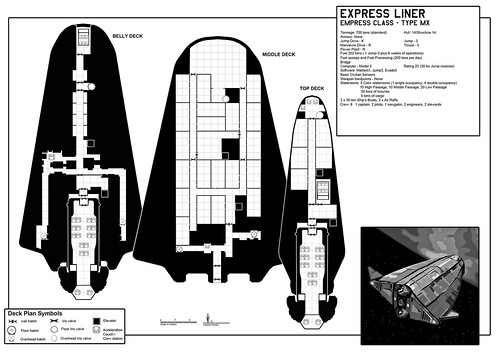 Express liner deck plans complete mark lucas flickr for Decor fusion interior design agency manchester m3