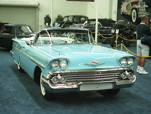 1958 Chevy Impala convertible   Imperial Palace Auto ...