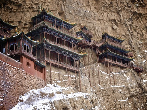 Xuankong Si, Hanging Monastery near Datong, China | by chuha