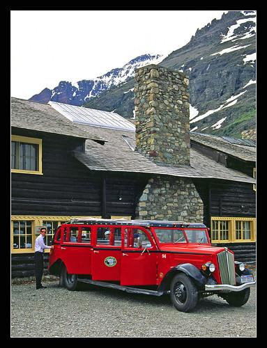 Red jammer glacier national park | jammer beer company danvers