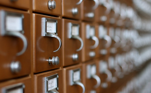 Card Catalog, Up Close | by Lester Public Library