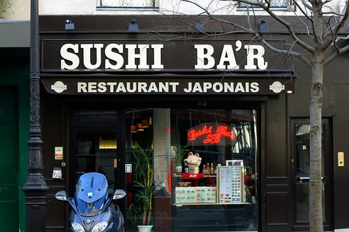 sushi ba'r | by David Lebovitz