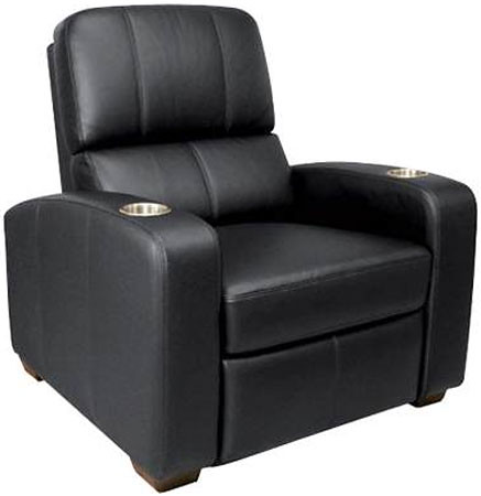 Marvelous Bello Black Leather Double Arm Reclining Chair Firstst Caraccident5 Cool Chair Designs And Ideas Caraccident5Info