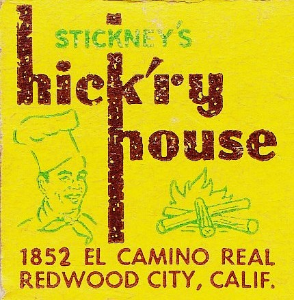 Stickneys Hickry House Redwood City The First In A Chain Flickr