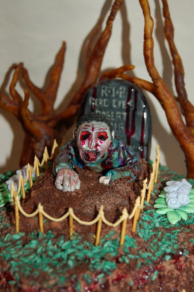 My Zombie Birthday Cake