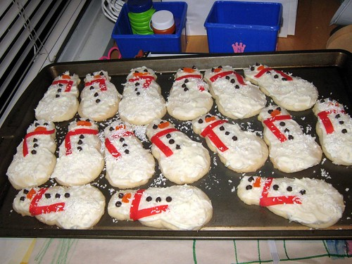 Snowman cookies | by Clint Lalonde