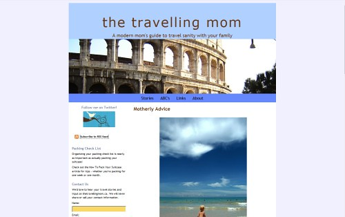 The Travelling Mom | by Blogging Women