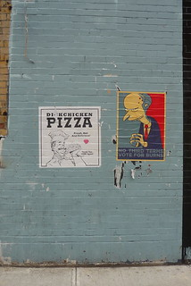 Dick Chicken Pizza and Mister Burns | by Mark_Baratelli
