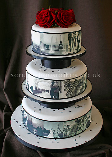 parisian wedding cakes wedding cake 461 edible pictures amp fresh roses 18115