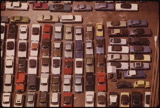Downtown Parking Lot 08/1973 | by The U.S. National Archives