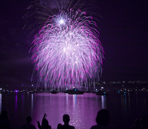 United Kingdom fireworks at the celebration of light. | by Eyesplash - Summer was a blast, for 6 million view