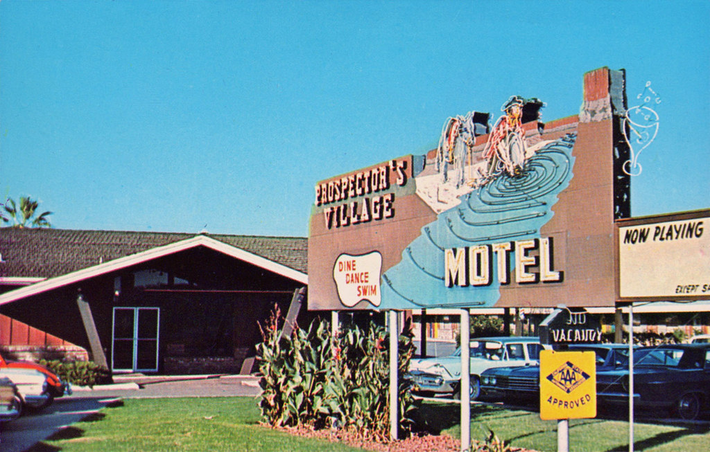 Prospector's Village Motel - Oroville, California
