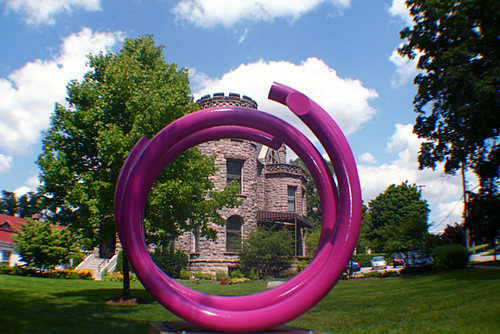 John Clement Art Prize Sculpture at Castle 8-13-093 | by stevendepolo
