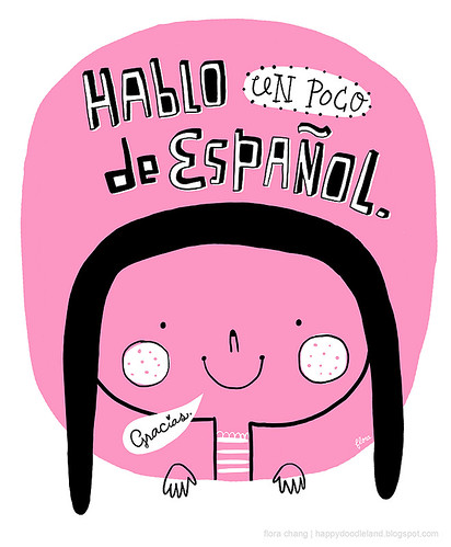 I am learning Spanish! | by Flora Chang | Happy Doodle Land