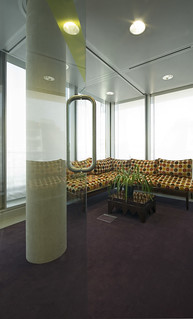 Astonishing Glass Door Enclosed Waiting Area With Carpet Lounges And Home Interior And Landscaping Ologienasavecom