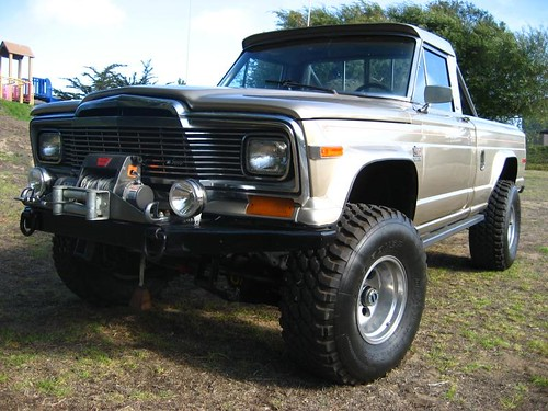 White Lifted Jeep >> untitled jeep J10 1980 model | jd | Flickr