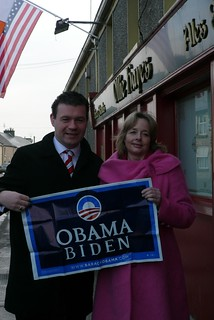 Nessa Childers and Alan Kelly, Labour MEP Candidates, in Moneygall, Co Offaly | by The Labour Party