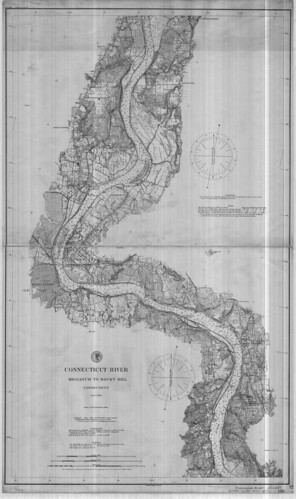 Connecticut River:  Higganum to Rocky Hill, Connecticut. | by uconnlibrariesmagic