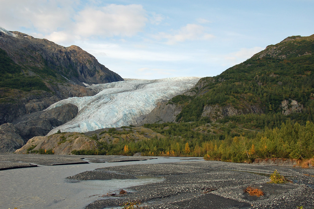 exit glacier hike the start of the exit glacier hike up to flickr