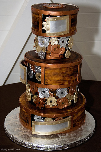 Steampunk Wedding Cake (Full) | by exoskeletoncabaret