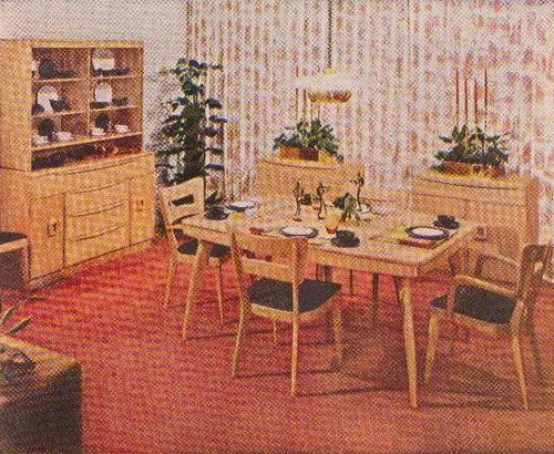 ... Heywood Wakefield Dining Room | By Saltycotton