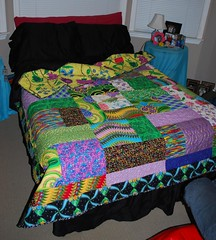 lauren's quilt :: on her bed | by sushikat